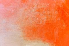 Art abstract painted background in red colors - stock illustration