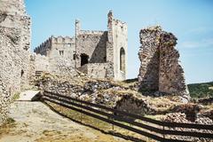 Stock Photo of Ruins of Beckov castle, Slovak republic, travel destination