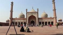 Jama Masjid, Delhi Stock Footage