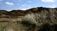Island Langeoog the Pirola Valley Stock Footage