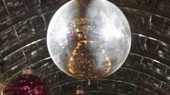 Disco Ball Night - stock footage