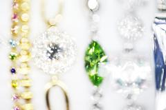 Gems, blurred, shine Stock Photos