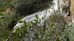 Beautiful Waterfall In Western North Carolina Stock Footage