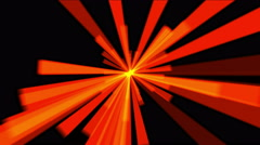 4k Stripe explosion ray tunnel space light laser,shuttle line energy radiation. Stock Footage