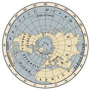 Northern Hemisphere Stock Illustration