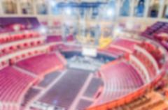 Defocused background of the Royal Albert Hall, London, UK Stock Photos