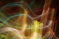 Photo effects, background, light abstraction Stock Photos