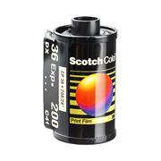 Scoth color print film cartridge - stock photo