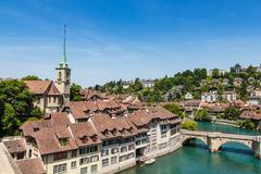 Bern, capital city of Switzerland - stock photo
