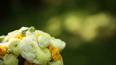 Bouquet of flowers Stock Footage