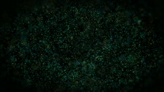 Glowing Particles Background Stock Footage