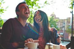 Lots of laughter - stock photo