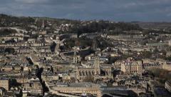 Daytime Bath City Time Lapse - stock footage