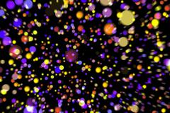 Abstract image background glowing particles Piirros
