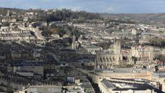Time lapse Bath City UK Stock Footage