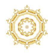 Stock Illustration of Gold pattern for the cards,  invitations, book page decoration