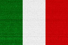 Italy flag Stock Illustration