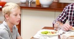 Stock Video Footage of Extended family having dinner