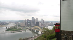 Duquesne Incline Car Stock Footage