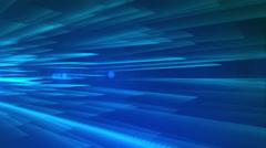 4k Blue Streaks Light Abstract Animation Background Seamless Loop. - stock footage