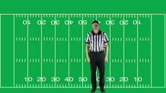 Personal Foul, green screen with field - stock footage