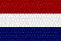 Netherlands flag - stock illustration