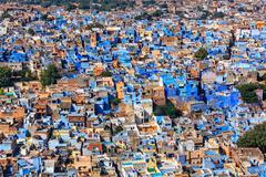 Jodhpur the Blue city, Rajasthan, India Stock Photos