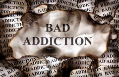 Burnt Bad Addiction Stock Photos