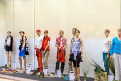Boutique Fashion Mannequins Of Fashion Shop Display Kuvituskuvat