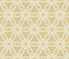 Lace vector fabric seamless  pattern with flowers Stock Illustration