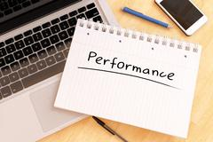 Performance - stock illustration