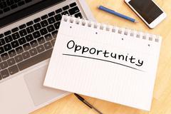 Stock Illustration of Opportunity
