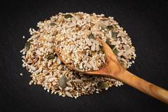 Healthy seeds mix Stock Photos