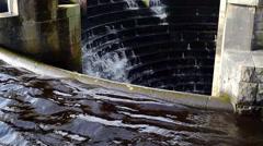 Reservoir Sink Drain Stock Footage