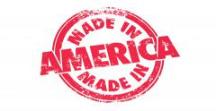 Made in America USA United States Round Stamp Manufacturing Pride 4K Stock Footage