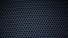 Metallic grid motion background. - stock footage