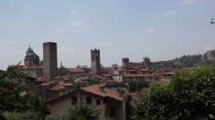Bergamo. Italy. Stock Footage