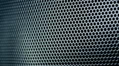 Metallic grid motion background. Stock Footage
