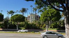 The Beverly Hills Hotel Establishing Shot   Stock Footage