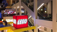 Lego store at Mall of America 4k Stock Footage