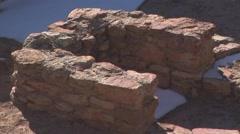 Stock Video Footage of Indian Pueblo ruin El Morro NM
