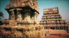 Ranganathaswamy Temple, Tiruchirappalli, Tamil Nadu, India Stock Footage