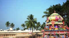 Ranganathaswamy Temple, Tiruchirappalli, Tamil Nadu, India. Stock Footage