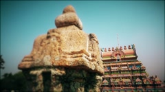 Temple in India Stock Footage