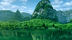 Guilin Scenery,3D Stock Footage