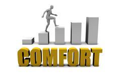 Comfort - stock illustration