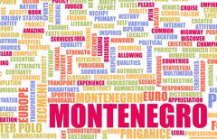 Montenegro - stock illustration