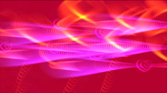 Motion Hearts Background Stock Footage