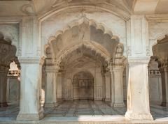 Nagina Mosque in Agra Fort, Uttar Pradesh, India Stock Photos