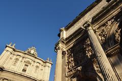 Roman Forum Stock Photos